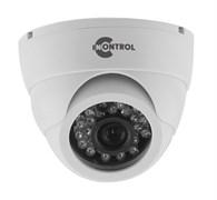 Купольная AHD видеокамера 720P с ИК-подсветкой 20 метров
