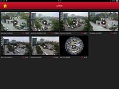 Приложение FREEIP для просмотра камер на планшете