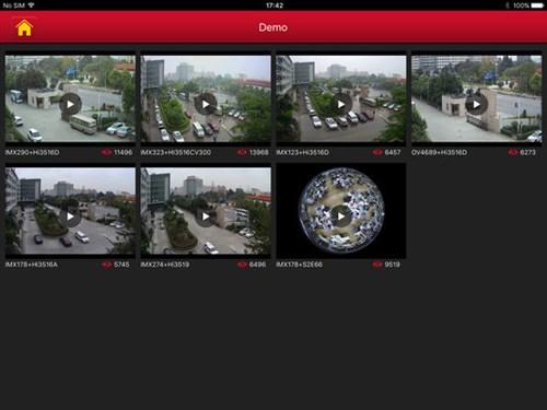 FREEIP HD бесплатное приложение для просмотра камер - фото 3953